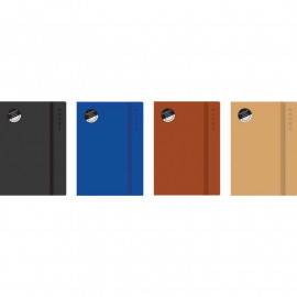 A5 notebook - soft touch rustic cover x 1 single book