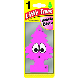 Air Freshener - 'Tree' - 'Bubble Berry' Fragrance MTR0006 - For Car Home - 1 Unit