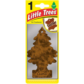 Air Freshener - 'Tree' - 'Leather' Fragrance MTR0016 - For Car Home - 1 Unit