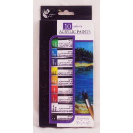 10 Colours Acrylic Paints