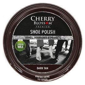 Cherry Blossom Traditional polish 50ml tins for smooth leather Shoes Boots