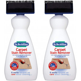 Carpet Stain Remover with Cleaning applicator/brush-650ml, White