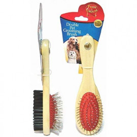 Double Pet Grooming Brush For thick Coats