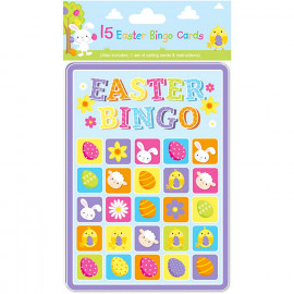 15 Easter Bingo Cards & Calling Cards