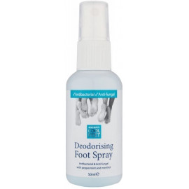 Deodorising Foot Spray Allow feet to dry completely before putting shoes on 50ml