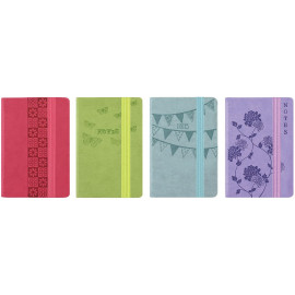 Pocket Soft Touch Notebook - Pastel