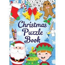 12 Mini Christmas Puzzle Activity Books A6 - Girl or Boys Party Bag Fillers by Christmas Book