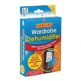 1 x Hanging Wardrobe Dehumidifier By - Helps Stop Damp