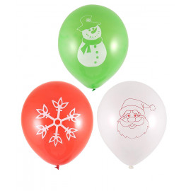 15 Christmas balloons party