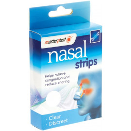 20 x Plasters Clear & Discreet Nose Plasters Cold Flu Snoring