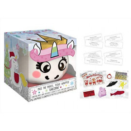 Pass The Parcel Unicorn - Christmas Family Game - Fun For All The Family