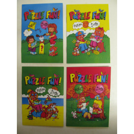 10 x Puzzle Fun Book (A6) - Party Bag Fillers