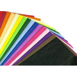100 x Multi Coloured Tissue Paper / Gift Wrap / Wrapping Paper Sheets (20