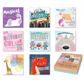 Just To Say Kids Birthday Card (Box of 8)